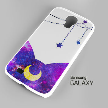Sailor Moon Luxe LUNA Galaxy Spray Paint A0052 Samsung Galaxy S3 S4 S5 Note 3 Cases - Galaxy