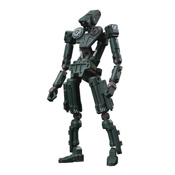 ROBOX Basic Green 1/12-scale action figure by 1000toys