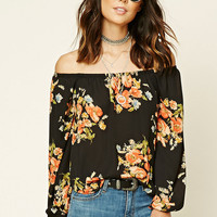 Contemporary Floral Top