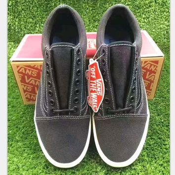 VANs vF corporation Casual Sports Sneakers Shoes black H-CSXY