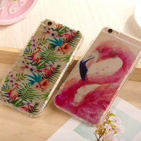 Flamingo iPhone 5s 6 6s Plus Case Super Light Cover Gift-166