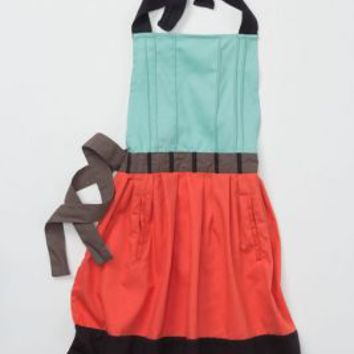 Cuisine Couture Kids  Apron by Anthropologie Turquoise Kids Aprons