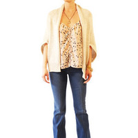 Theory Adanna Cardigan in Dusty Beige for sale online from Carolina Boutique in downtown Mill Valley
