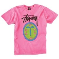 Stussy Stock Mask T-Shirt - Men's at CCS