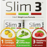 Natures Science Slim 3 - Weight Loss Formula - 3 in 1 - 84 Capsules