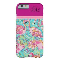 Preppy Pink Flamingos iPhone 6 Case