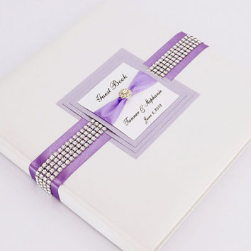 Wedding Guest Book - Personalized