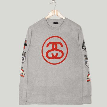 Stussy Long Sleeve Link International T-Shirt | Size?