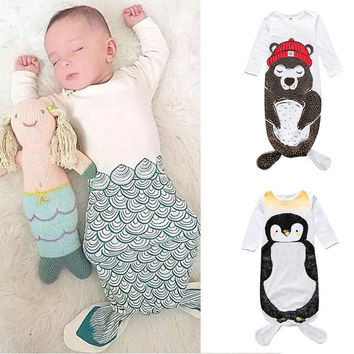 Winter Cute Animal Baby Sleep Bags [9651107919]