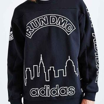 adidas Originals X Run-D.M.C. Pullover Sweatshirt- Black