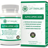 OptimalXT multi-benefit Alpha Lipoic Acid for Health and Beauty Support, as well as for Lowering Cholesterol