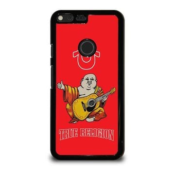 RED BIG BUDDHA TRUE RELIGION Google Pixel XL Case Cover