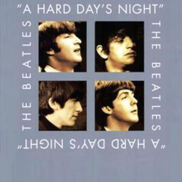 The Beatles A Hard Day's Night Movie Poster 27x40  Used