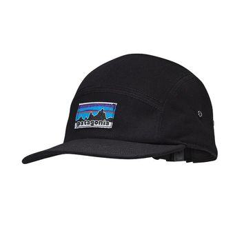 Patagonia Retro Fitz Roy Label Tradesmith Cap | Black