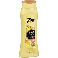 Tone Citrus Peel Exfoliating Body Wash, With Alpha-Hydroxy Fruit Acids