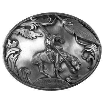 Sports Accessories - End of the Trail Antiqued Belt Buckle