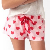 Heart PJ Shorts