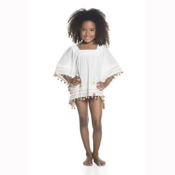 Ondademar Girls Amazonia Poncho Top