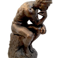 Thinker from Gates of Hell Stature Replica by Rodin 11H