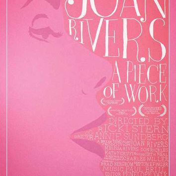 Joan Rivers: A Piece of Work 11x17 Movie Poster (2010)
