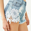 Ecote Rush Hour Denim Short - Urban Outfitters