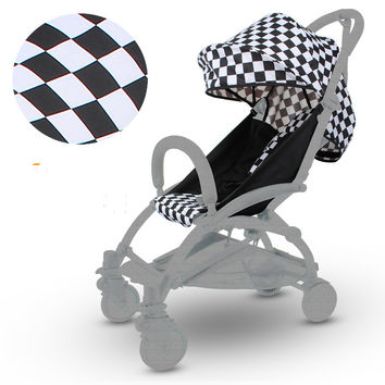 Yoya Baby Stroller Accessories fram  Mat Set Seat Cushion Cover Shade Shed and Pad used Vovo