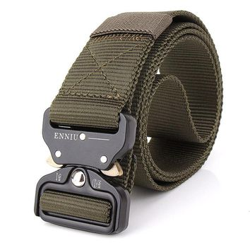 125CM Swat-Military-style heavy duty belt and buckle