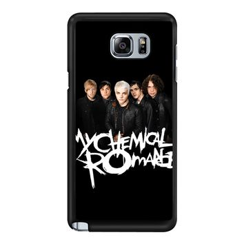 My Chemical Romance Rock Band  Samsung Galaxy Note 5 Case
