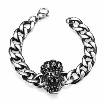 Awesome Stylish Gift New Arrival Hot Sale Shiny Great Deal Stainless Steel Accessory Titanium Men Bracelet [10783257219]