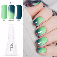Azure 12ML Temperature Chameleon Nail Gel Polish Thermal Color Change