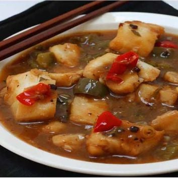 Recipes - Malaysian Fish in Black Bean Sauce