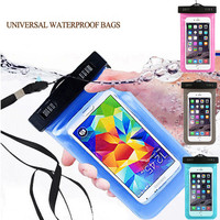 Hot Sale Mobile Phone Waterproof Pouch Bag Case Cover Underwater Touch Water Proof For Huawei Ascend P9 Lite