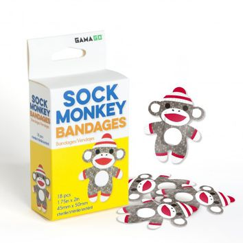 Sock Monkey Bandages