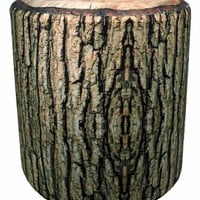 'Cabin Fever' Cushioned Log Stool
