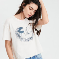 AE Hawaii Graphic Tee , Nude
