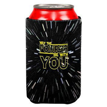 May The Fourth Be With You All Over Can Cooler