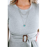 Bring It Back Necklace: Silver