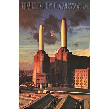 Pink Floyd Animals Album Cover Poster 24x36