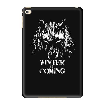 game of thrones direwolf winter is coming iPad Mini 4