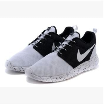 NIKE Women Men Running Sport Casual Shoes Sneakers White toe cap