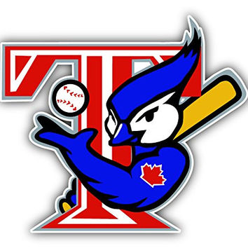 Toronto Blue Jays MLB Baseball Bird Logo Vinyl Sticker 5 X 4 inches