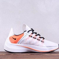 hcxx Nike Wmns EXP-X14 Fashion Flyknit Causal Running Shoes White