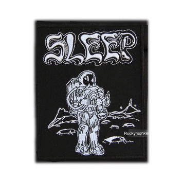 Sleep band patch Doom metal band Stoner metal patch Heavy metal patch Embroidered patch Sew on patch Iron on patch Applique