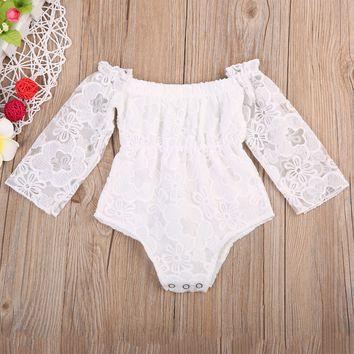 Adorable Summer Newborn Toddler Baby Girl's Clothes Lace Romper Jumpsuit Playsuit Sunsuit Infant Kids Girls Outfits 0-24M