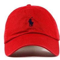 "Polo Dad Hat ""Red"""