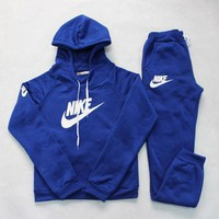 Nike: Sleeve Shirt Sweater Pants Sweatpants Set Two-Piece Sportswear