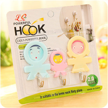 On Sale Bedroom Hot Deal Kitchen Innovative Lovely Hook Hanger Bathroom 3-pcs Towel [6395707268]