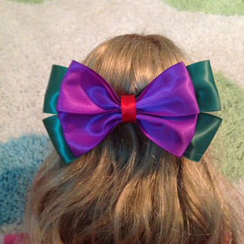 The Little Mermaid inspired Disney Bow