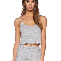 Rachel Pally Rib Easton Top in Prism Stripe | REVOLVE