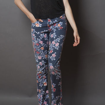 Retro Slim Floral Jeans  (Citizens of Humanity)